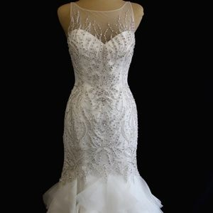 Never altered or worn wedding gown